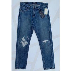 Lucky Brand Jeans - Lucky Sienna Slim Boyfriend Jeans Distressed 4